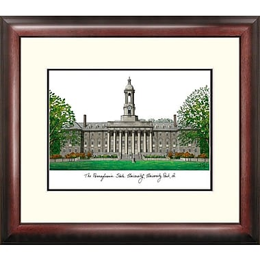 Campus Images Alumnus Lithograph Framed Photographic Print; Penn State Nittany Lions