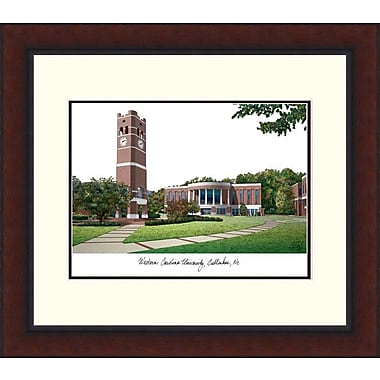 Campus Images Legacy Alumnus Lithograph Picture Frame; Western Carolina Catamounts
