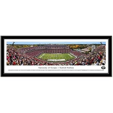 Campus Images NCAA Stadium Framed Photographic Print; Georgia Bulldogs