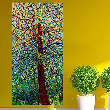 My Wonderful Walls Abstract Forest Kaleidoscope Wall Decal; Extra Large