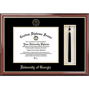 Campus Images NCAA Tassel Box and Diploma Picture Frame; Georgia Bulldogs