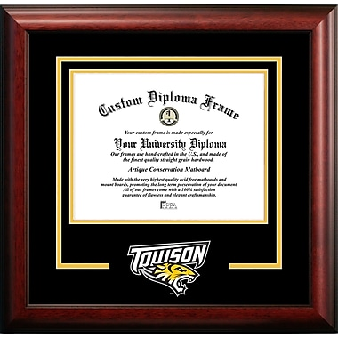 Campus Images NCAA Spirit Diploma Picture Frame; Towson Tigers