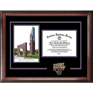 Campus Images NCAA Spirit Graduate Diploma Picture Frame; Mankato Mavericks