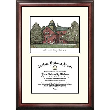 Campus Images NCAA Scholar Diploma Picture Frame; Oklahoma State Cowboys