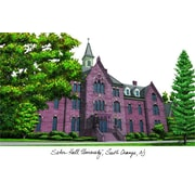 Campus Images NCAA Campus Images Lithograph Photographic Print; Seton Hall Pirates