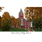 Campus Images NCAA Campus Images Lithograph Photographic Print; Georgia Tech Yellow Jackets