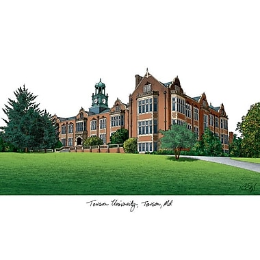 Campus Images NCAA Campus Images Lithograph Photographic Print; Towson Tigers