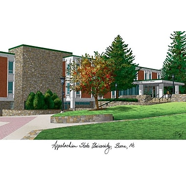 Campus Images NCAA Campus Images Lithograph Photographic Print; Appalachian State Mountaineers