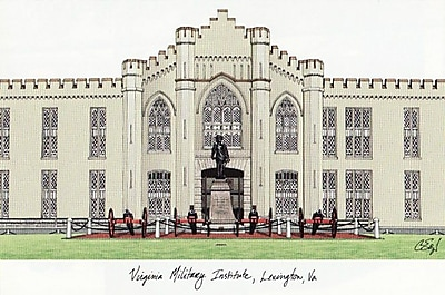 Campus Images NCAA Campus Images Lithograph Photographic Print; VMI Keydets
