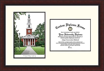 Campus Images NCAA Legacy Scholar Diploma Picture Frame; Kentucky Wildcats