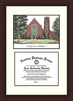 Campus Images NCAA Legacy Scholar Diploma Picture Frame; UTC Mocs