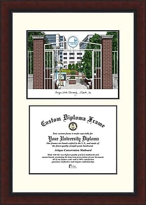 Campus Images NCAA Legacy Scholar Diploma Picture Frame; Georgia State Panthers