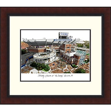 Campus Images NCAA Alumnus Legacy Lithograph Picture Frame; Florida Gators