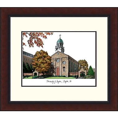 Campus Images NCAA Alumnus Legacy Lithograph Picture Frame; Dayton Flyers