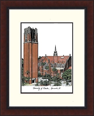 Campus Images NCAA Legacy Alumnus Lithograph Picture Frame; Florida Gators