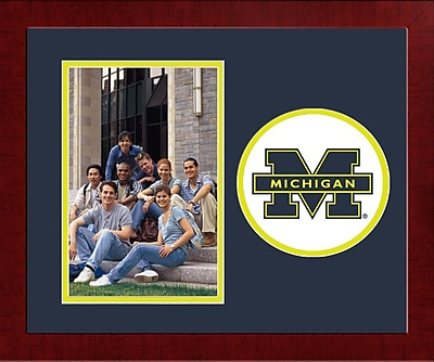 Campus Images NCAA Spirit Picture Frame; Michigan Wolverines