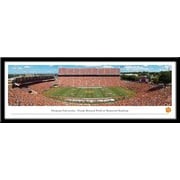 Campus Images NCAA Stadium Framed Photographic Print; Clemson Tigers