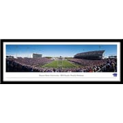 Campus Images NCAA Stadium Framed Photographic Print; Kansas State Wildcats