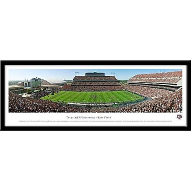 Campus Images NCAA Stadium Framed Photographic Print; Texas A&M Aggies