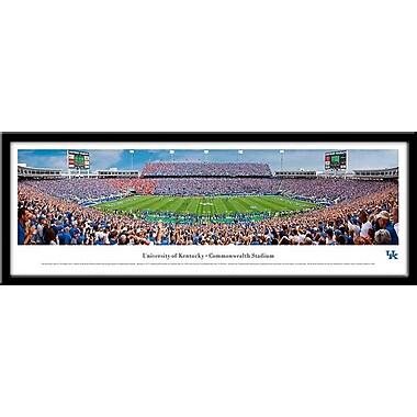Campus Images NCAA Stadium Framed Photographic Print; Kentucky Wildcats