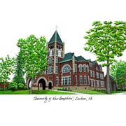 Campus Images NCAA Campus Images Lithograph Photographic Print; New Hampshire Wildcats