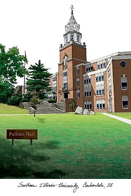 Campus Images NCAA Campus Images Lithograph Photographic Print; Southern Illinois Salukis