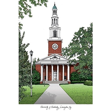 Campus Images NCAA Campus Images Lithograph Photographic Print; Kentucky Wildcats