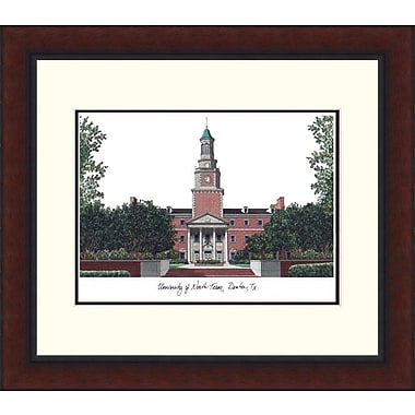 Campus Images NCAA Legacy Alumnus Lithograph Picture Frame; North Texas Mean Green