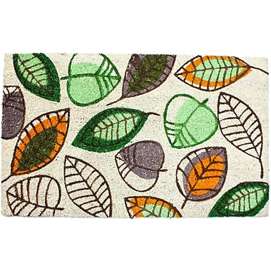 J&M Home Fashions Harvest Leaves Doormat