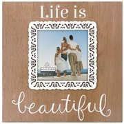 Malden Life Is Beautiful Picture Frame