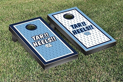 Victory Tailgate NCAA North Carolina Tar Heels Tar!! Heels!! Version Cornhole Game Set WYF078278873234