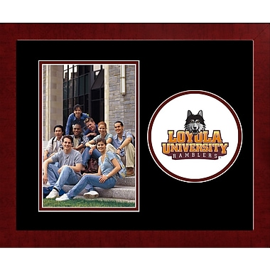 Campus Images NCAA Spirit Picture Frame; Loyola Chicago Ramblers