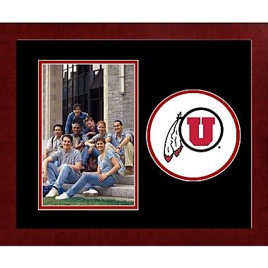 Campus Images NCAA Spirit Picture Frame; Utah Utes