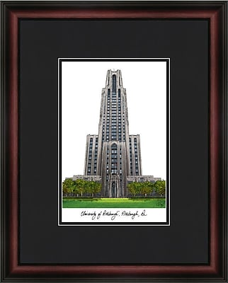 Campus Images Academic Lithograph Picture Frame; Pittsburgh Panthers