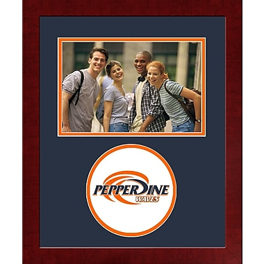 Campus Images NCAA Spirit Picture Frame; Pepperdine Waves