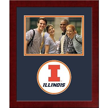Campus Images NCAA Spirit Picture Frame; Illinois Fighting Illini