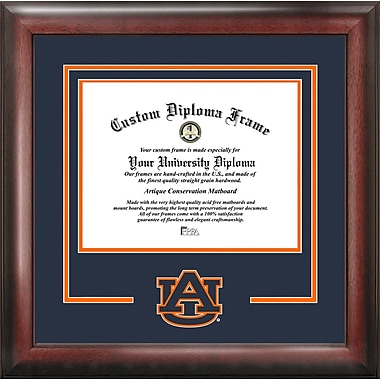 Campus Images NCAA Spirit Diploma Picture Frame; Auburn Tigers