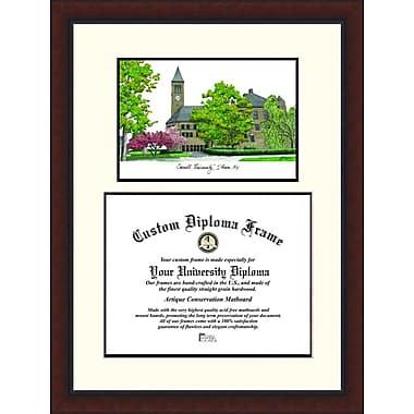 Campus Images NCAA Legacy Scholar Diploma Picture Frame; Cornell Big Red