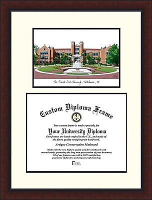 Campus Images NCAA Legacy Scholar Diploma Picture Frame; Florida State Seminoles