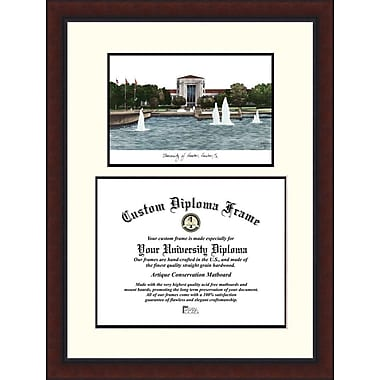 Campus Images NCAA Legacy Scholar Diploma Picture Frame; Houston Cougars