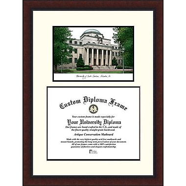 Campus Images NCAA Legacy Scholar Diploma Picture Frame; South Carolina Gamecocks