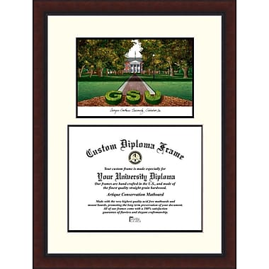 Campus Images NCAA Legacy Scholar Diploma Picture Frame; Georgia Southern Eagles