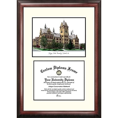 Campus Images NCAA Scholar Diploma Picture Frame; Wayne State Warriors