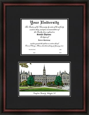 Campus Images NCAA Diplomate Diploma Picture Frame; Georgetown Hoyas