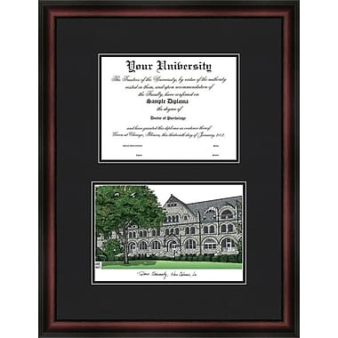 Campus Images NCAA Diplomate Diploma Picture Frame; Tulane Green Wave
