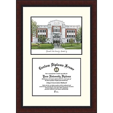 Campus Images NCAA Legacy Scholar Diploma Picture Frame; Morehead State Eagles