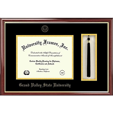 Campus Images NCAA Tassel Box and Diploma Picture Frame; Grand Valley State Lakers