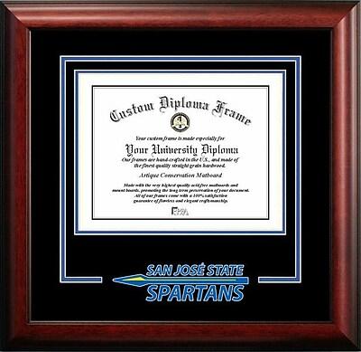 Campus Images NCAA Spirit Diploma size; San Jose State Spartans