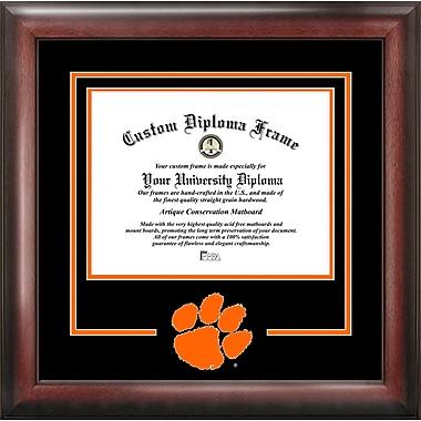Campus Images NCAA Spirit Diploma size; Clemson Tigers