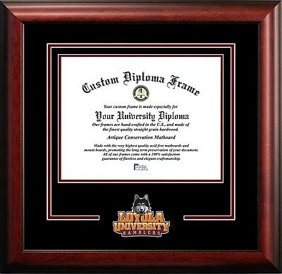 Campus Images NCAA Spirit Diploma size; Loyola Chicago Ramblers